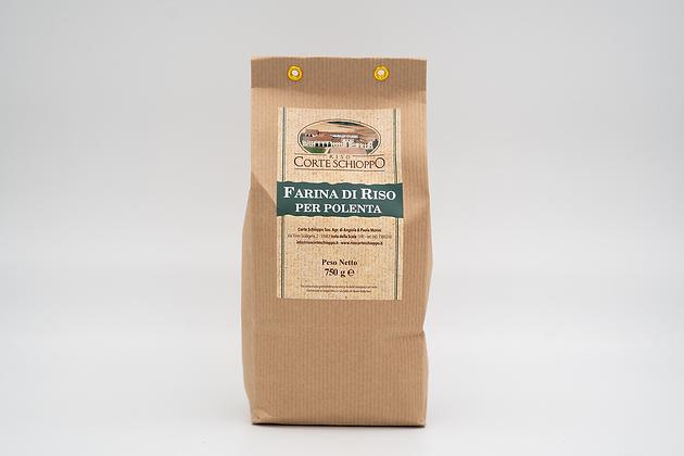 Farina di Riso per polenta - 750 grammi