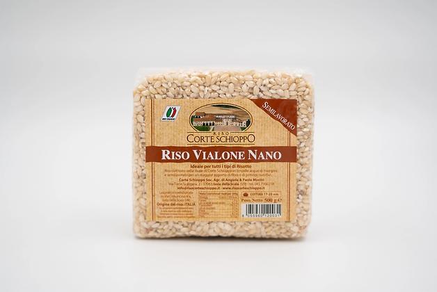 Riso Vialone Nano Classico Semilavorato - 0,5 kg
