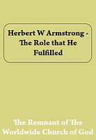 Herbert%20W%20Armstrong%20-%20The%20Role