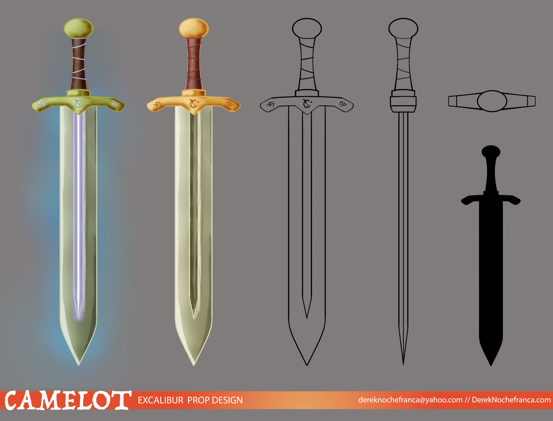 Camelot - Excalibur model sheet