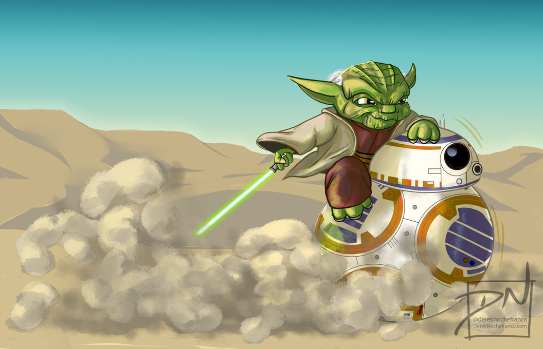 Yoda and BB-8