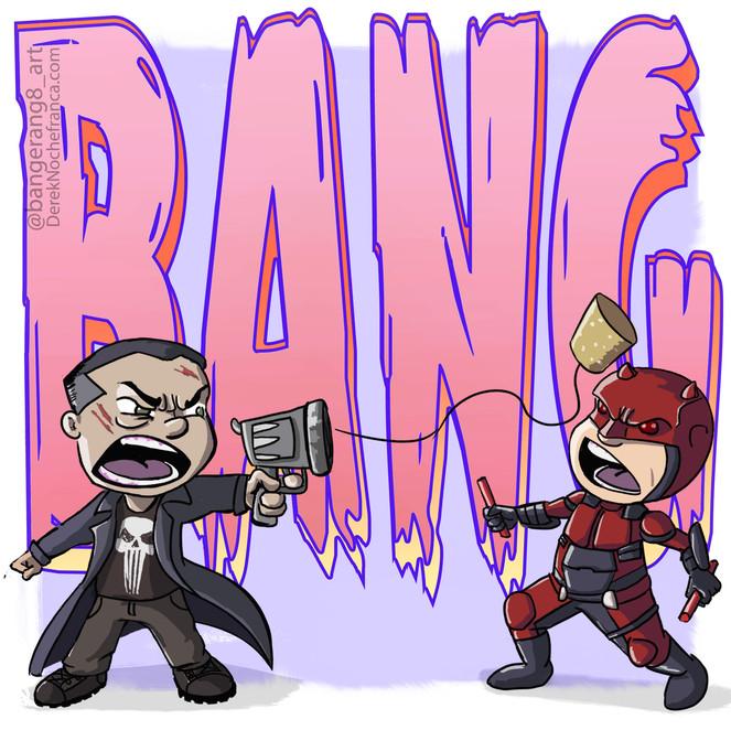 Daredevil x The Punisher