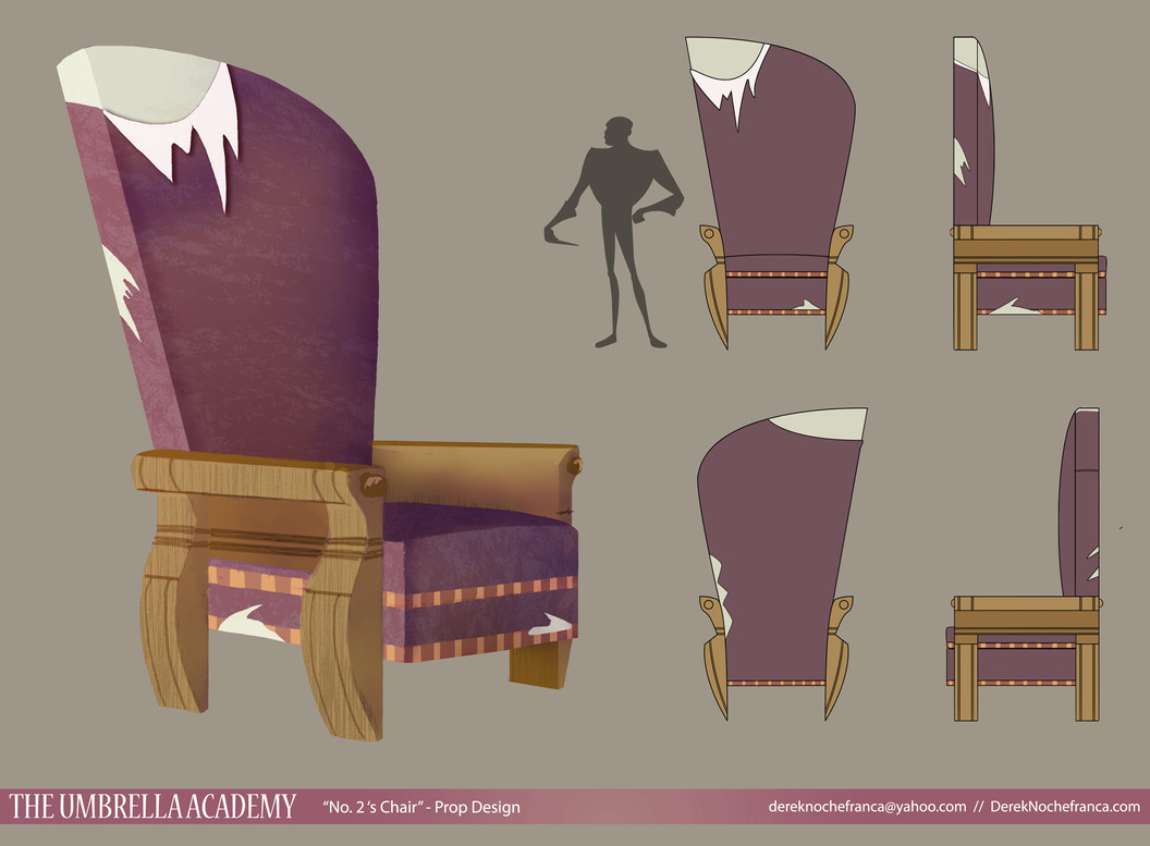 The Umbrella Academy - No. 2's chair