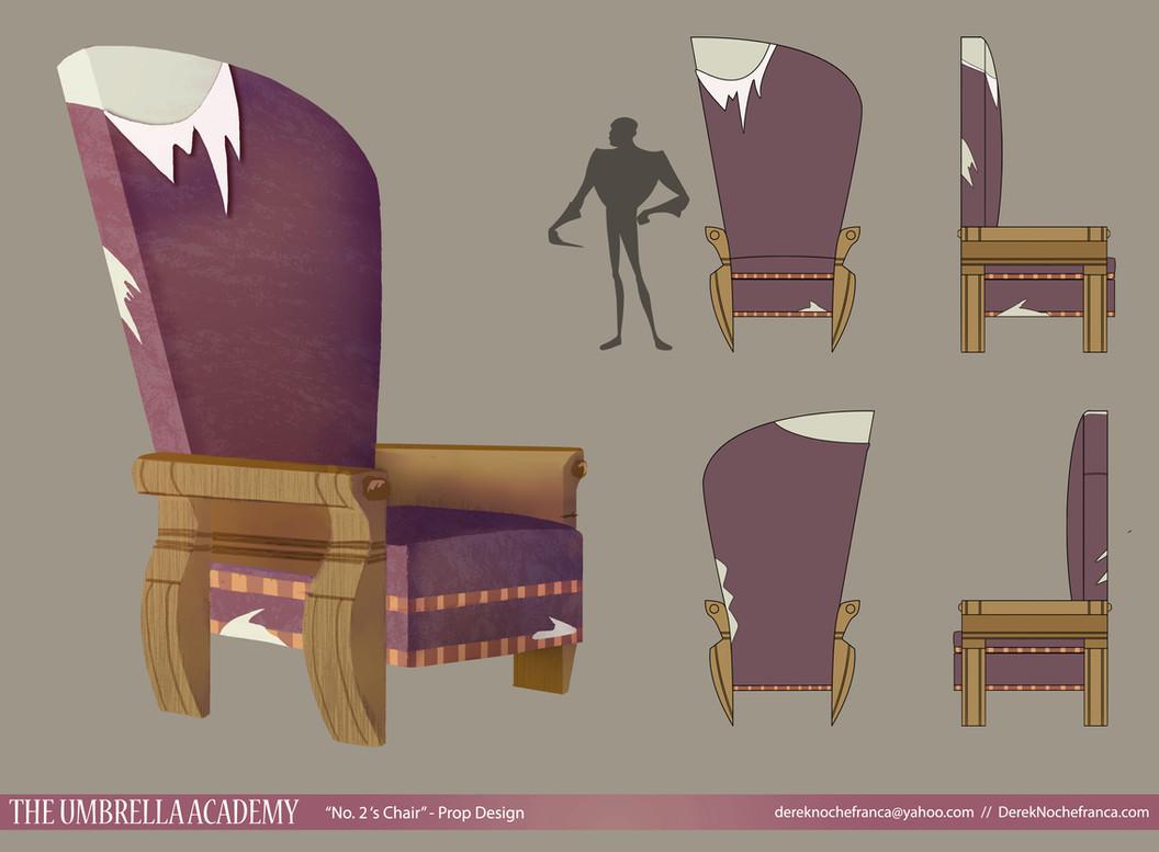 The Umbrella Acadmey - No. 2's chair