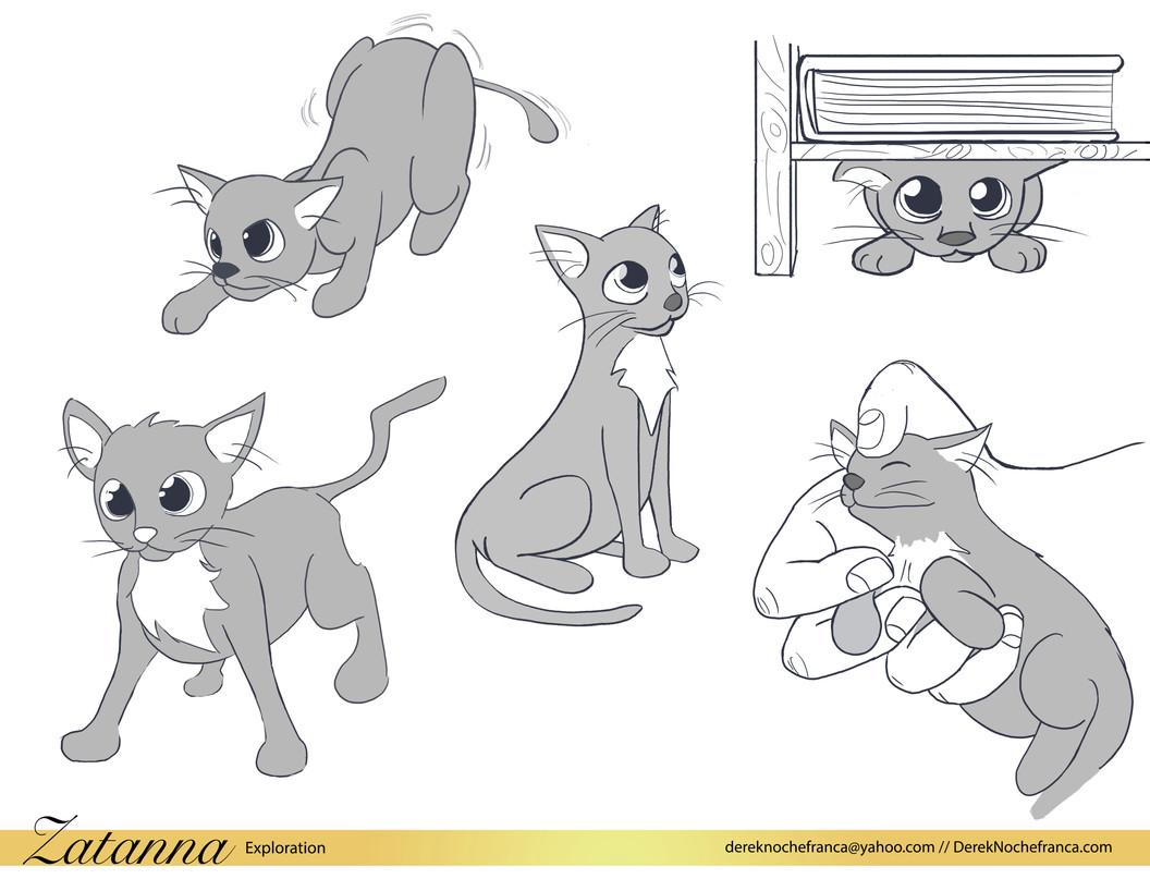 Zatanna the cat