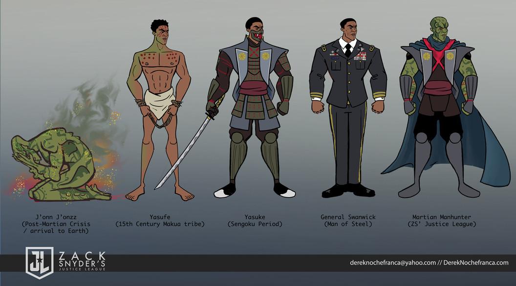 Martian Manhunter - line-up