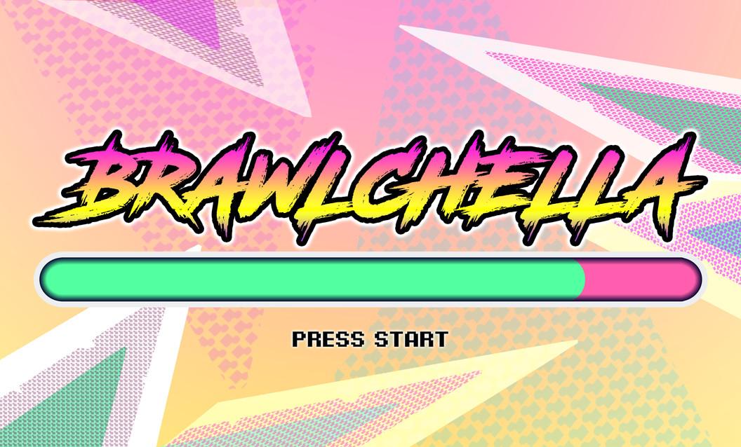 Brawlchella - title card / start menu