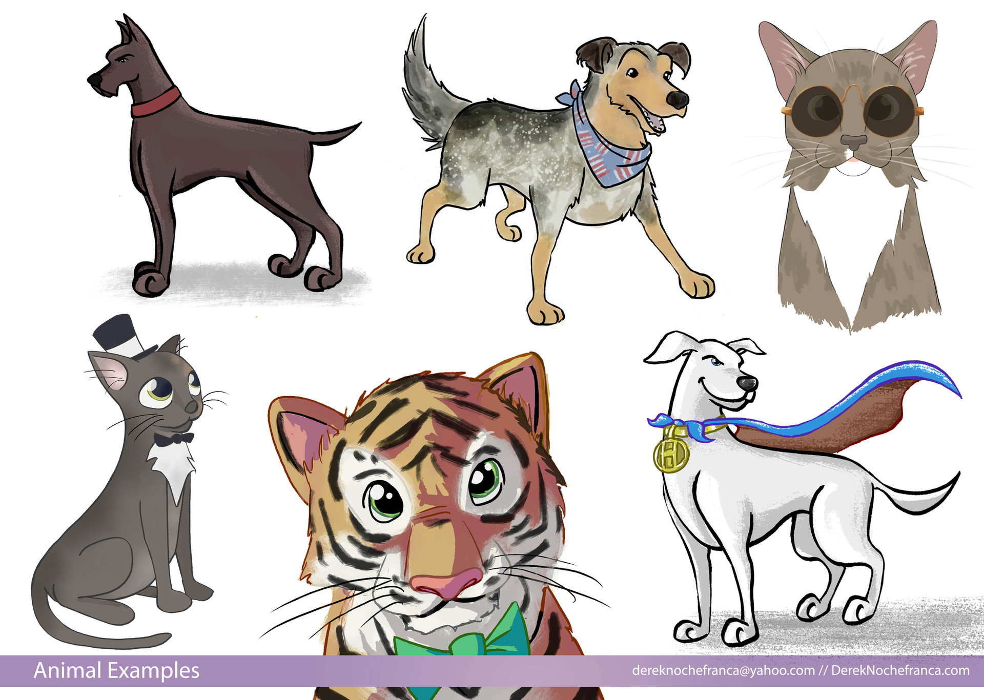 Animal Examples