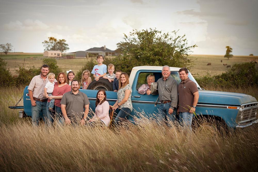 Brenham Texas family photography