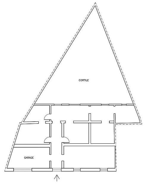 Appartamento al piano terra da ristrutturare