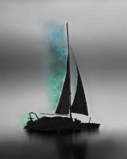 SailBoatSunset-DigiPaintBLUEGREEN
