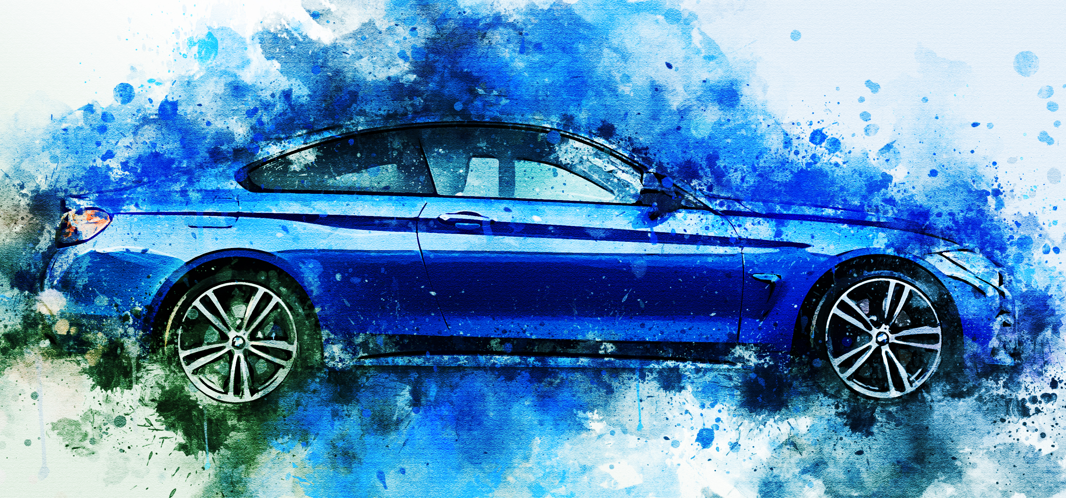 BMW - Watercolor