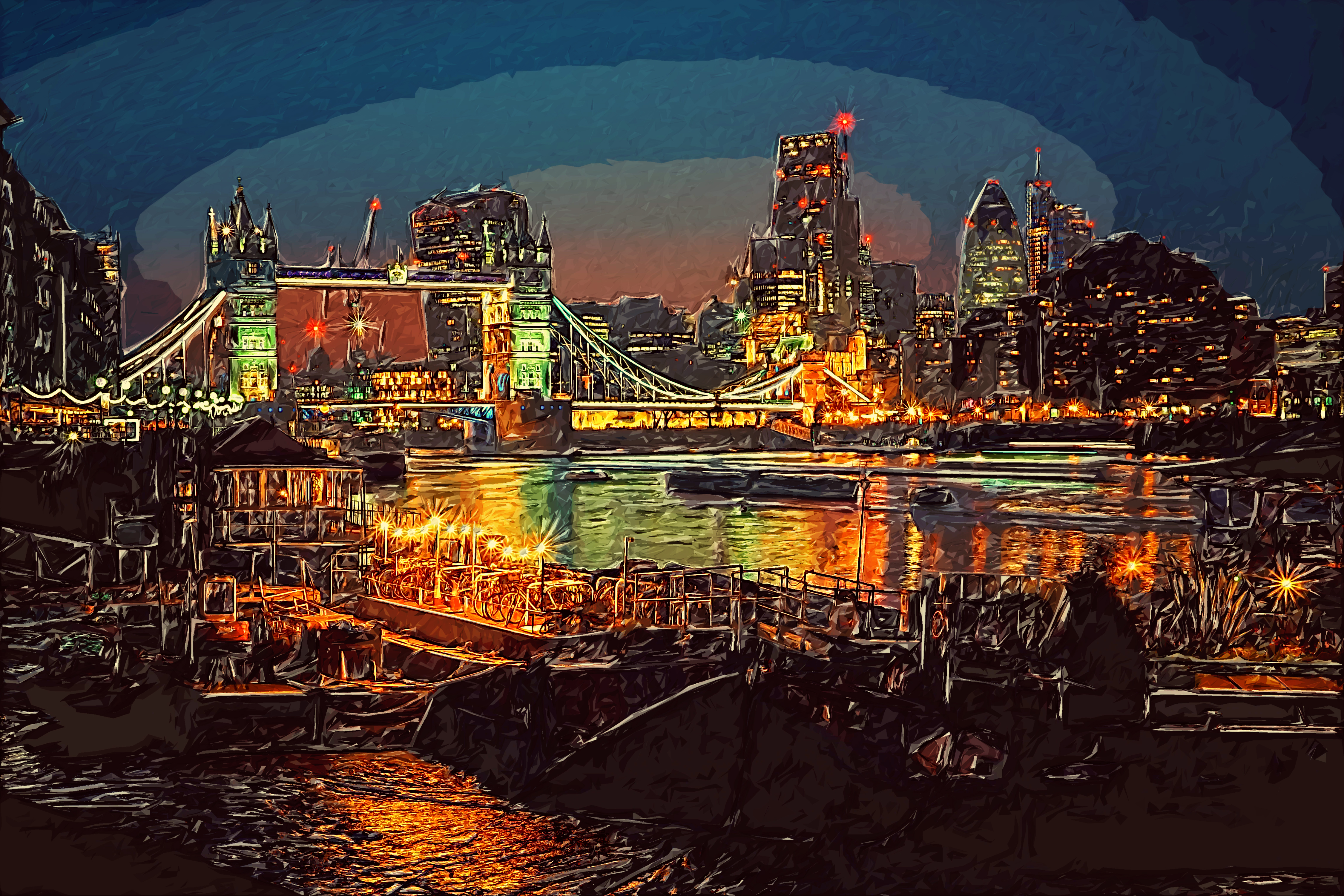 london night-DigiPaint