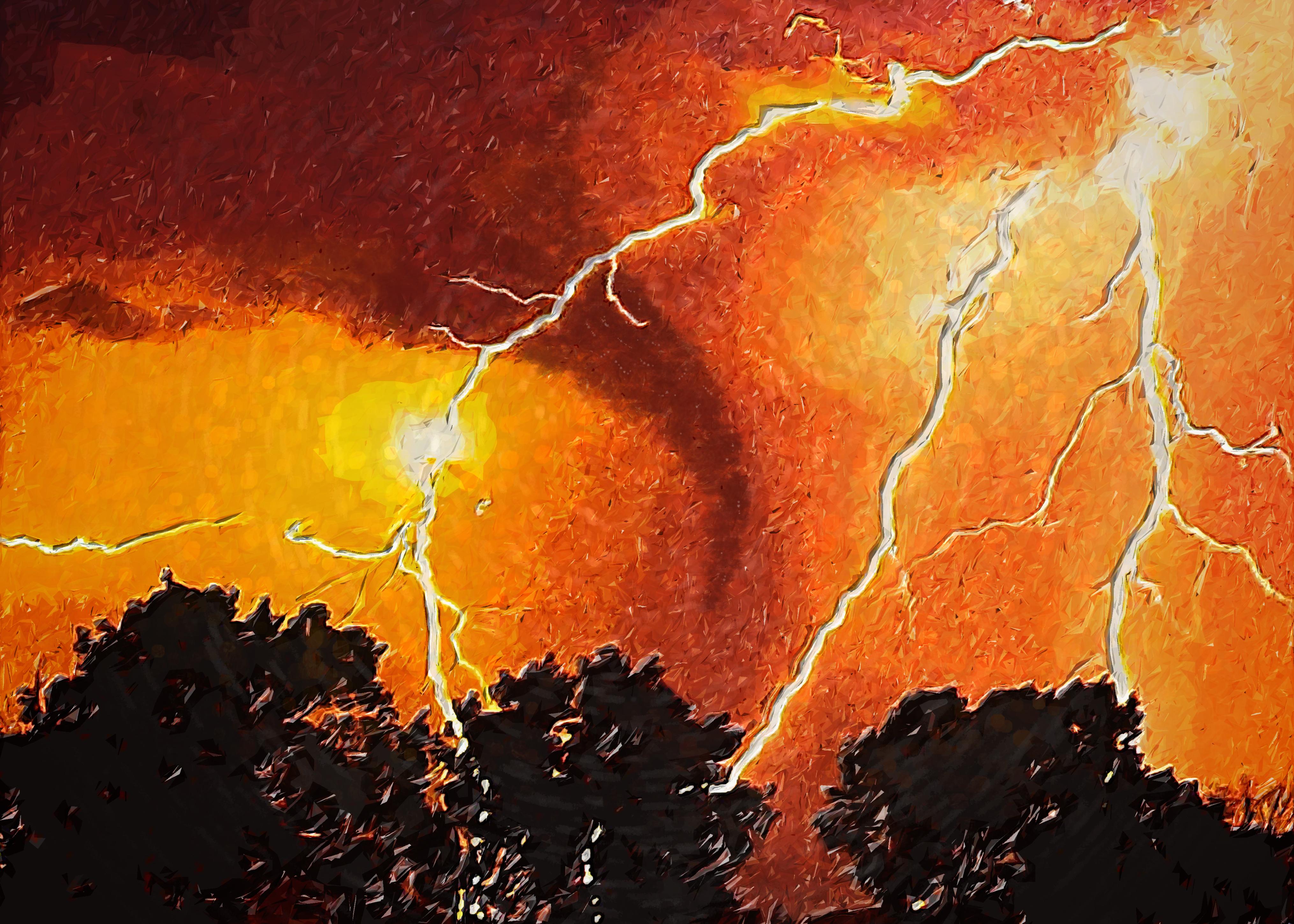 LightningTornado