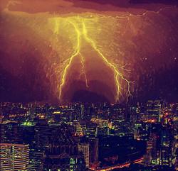 CityLightning-DigiPaint