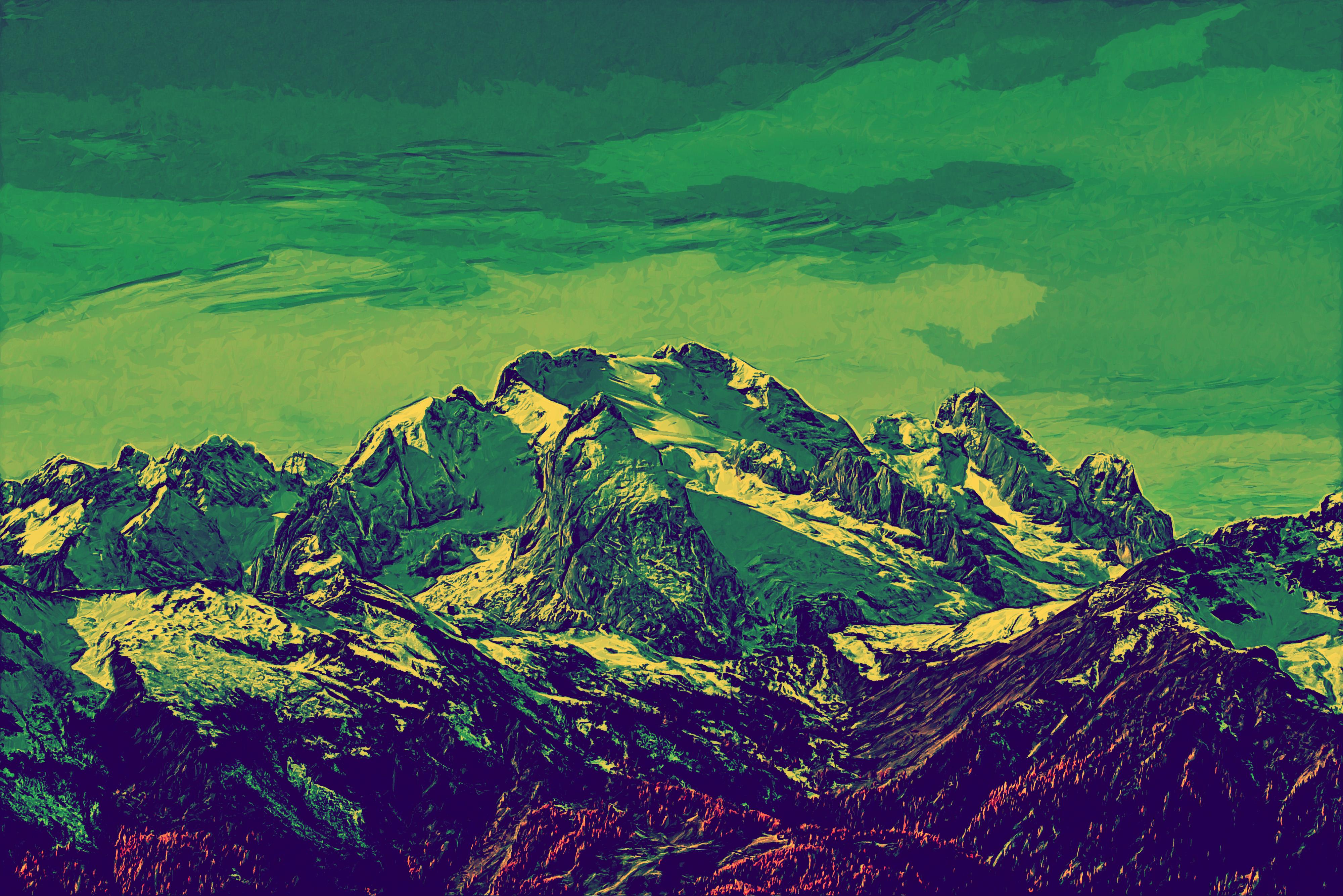 MountainCaps - DigiPaint