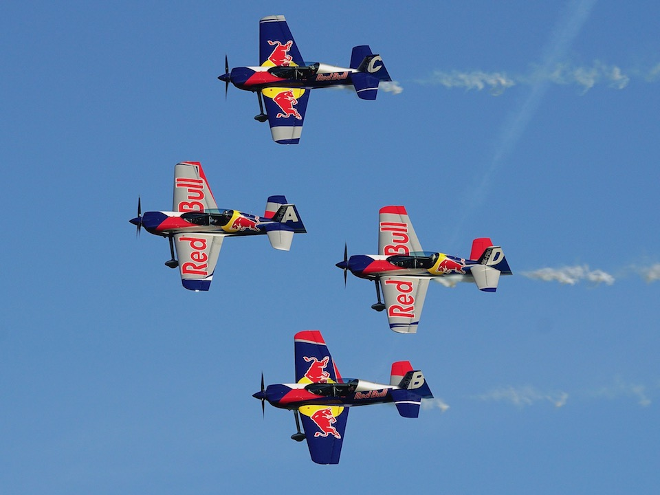 Flying Bulls Aerobatic Team