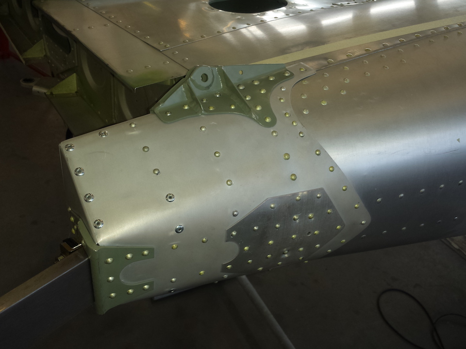 Zlin 50 airframe repair