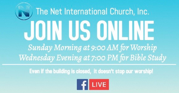 Join Us for our livestream Worship and B
