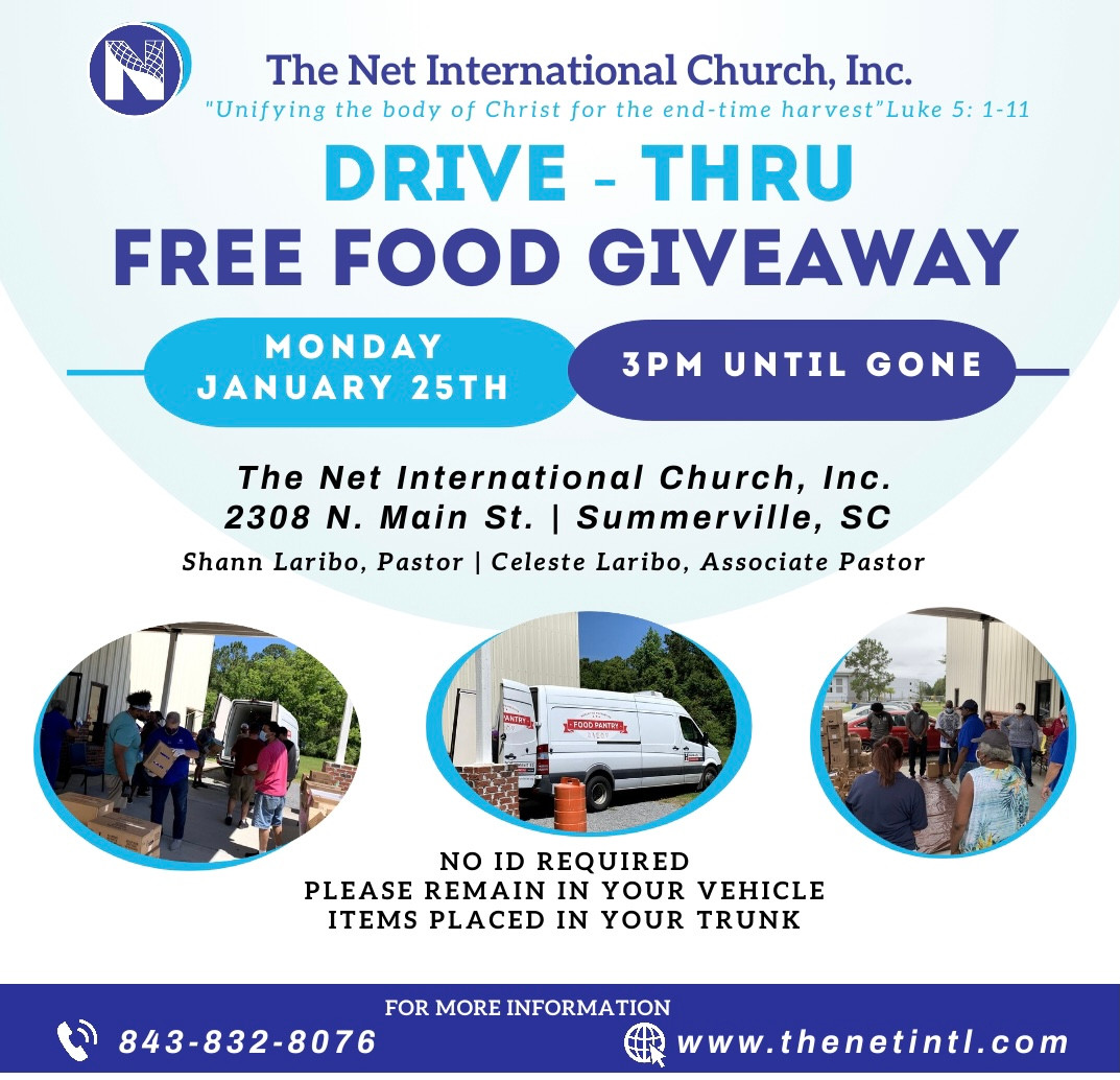Join us for our free food giveaway