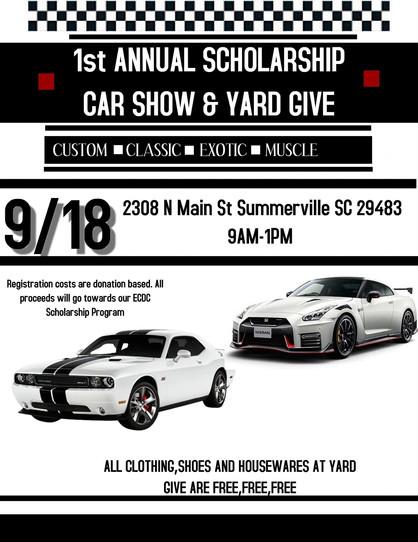 1st Annual Scholarship Car Show