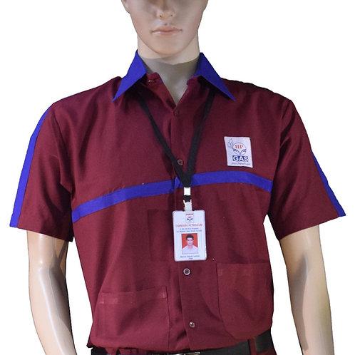 HP Gas DSM salesman shirt