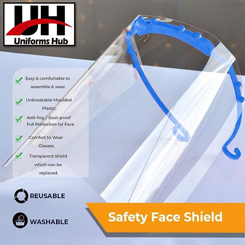 Face Shield - Face Protection From Direct Splash ( Pack of 20 )