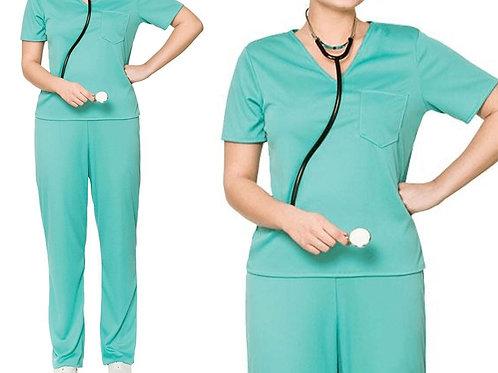 Hospital Scrub Uniform -Green