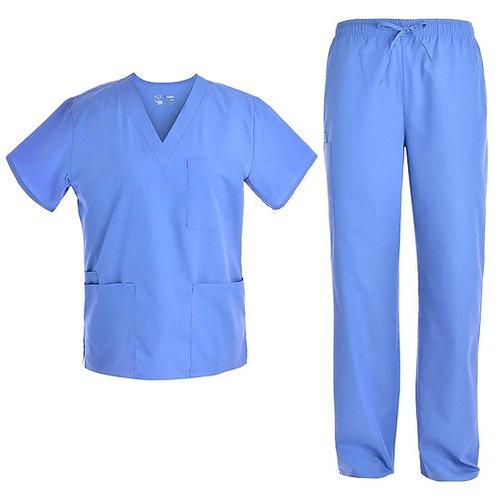 Hospital Scrub Uniform -Blue