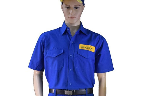 Bharat Gas Salesman Delivery man Shirt