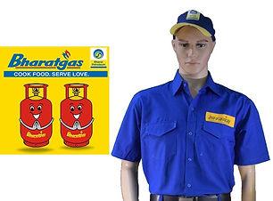 bharat gas dsm uniform by toshniwal mark