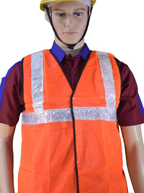 Bharat Petroleum Safety Reflector Jacket For Usher