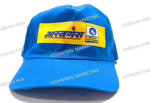 Bharat Gas Cap for delivery man (Pack of 10)