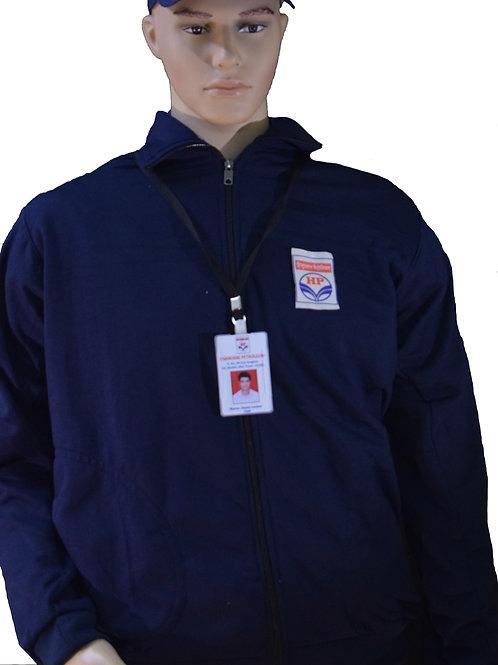 Hindustan Petroleum HPCL winter jerking jacket