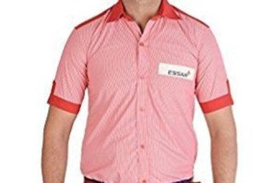 ESSAR petrol pump Salesman Delivery man Shirt
