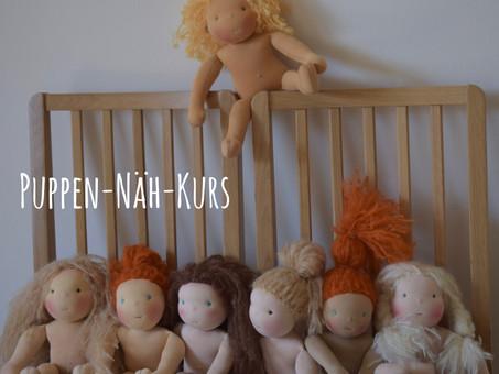 Puppen-Näh-Kurs dieses Wochenende