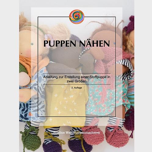 UPDATE Puppen nähen - eBook - Anleitung zur Erstellung einer Stoffpuppe