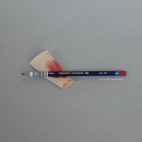 Wangenrot Aquarellstift wasserfest
