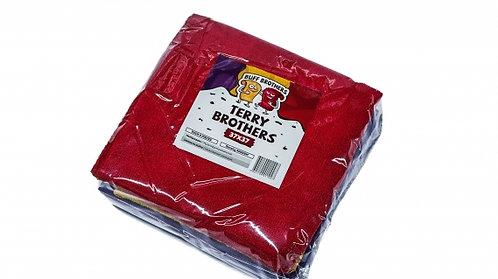 Комплект микрофибровых полотенец без краев BUFF BROTHERS TERRY BROTHERS 37x37 (к