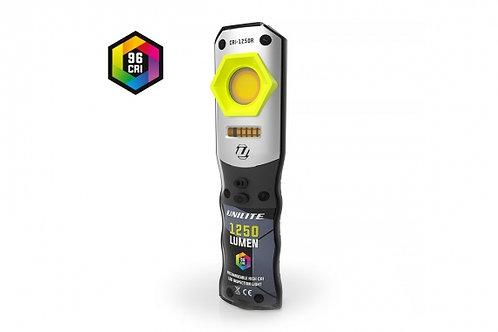 UNILITE CRI-1250R - Инспекционный фонарь CRI 96+, 1250 Lm, 3 цвета + УФ, 5000 mA