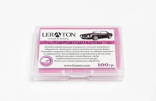 Высокоабразивная полировальная глина(красная) LERATON