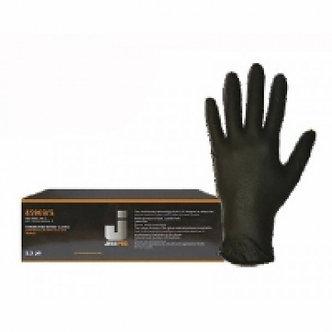 JETAPRO ХL Перчатки нитриловые, черные, 100шт
