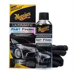 Meguiars Защитное покрытие Ultimate Fast Finish (аэрозоль)+ салфетка в к