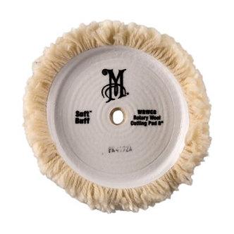 Полировальник мягкий шерстяной Soft Buff Rotary Wool Pad  WRWC8 203 мм. Meguiars