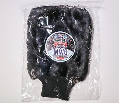 Варежка из искусственного меха LERATON BLACK WOOL MITT MW6
