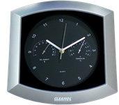 Часы-погодная станция с логотипом Cleanol