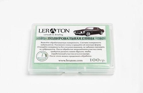 Среднеабразивная полировальная глина(зеленая) LERATON