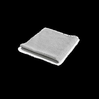 Салфетка из микрофибры 40*40 см, серая, без оверлока, уп-ка 2 шт.
