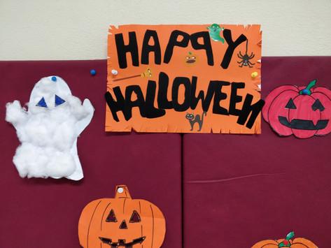 Glimpses of Halloween in a Greek Public School