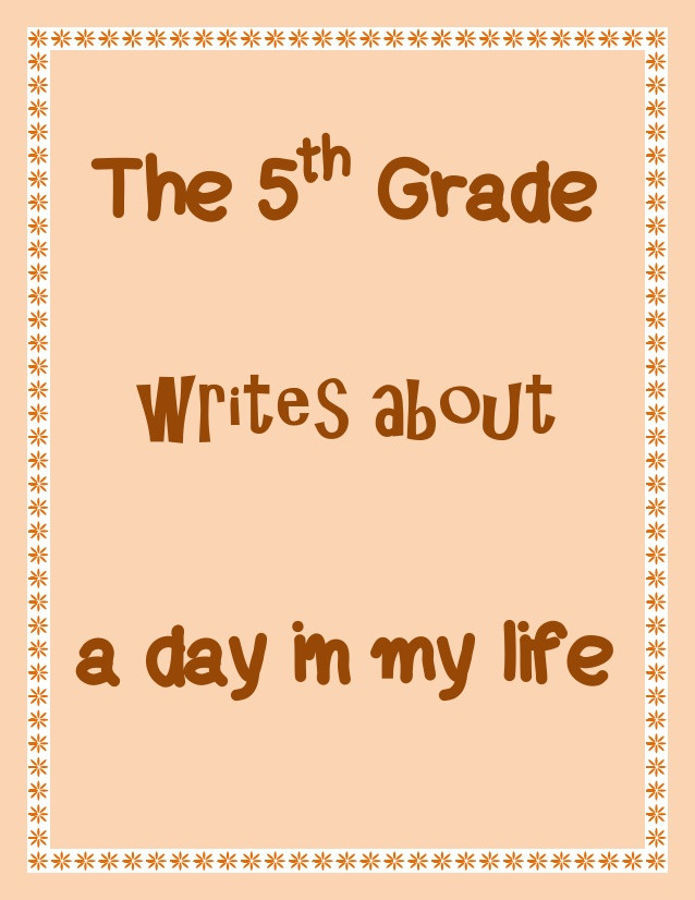 A SlideShare of students writing about their daily life